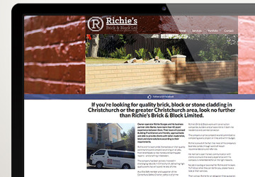 Richie's Brick and Brick - www.richiesbrick.co.nz